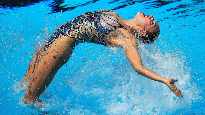 Колесниченко выиграла сольную произвольную программу на ЧЕ по синхронному плаванию