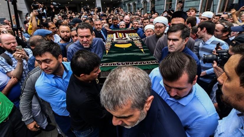 «Он был воином»: в Москве простились с журналистом Орханом Джемалем
