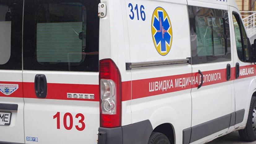 Под Одессой во время акции пострадал полицейский в результате наезда автомобиля
