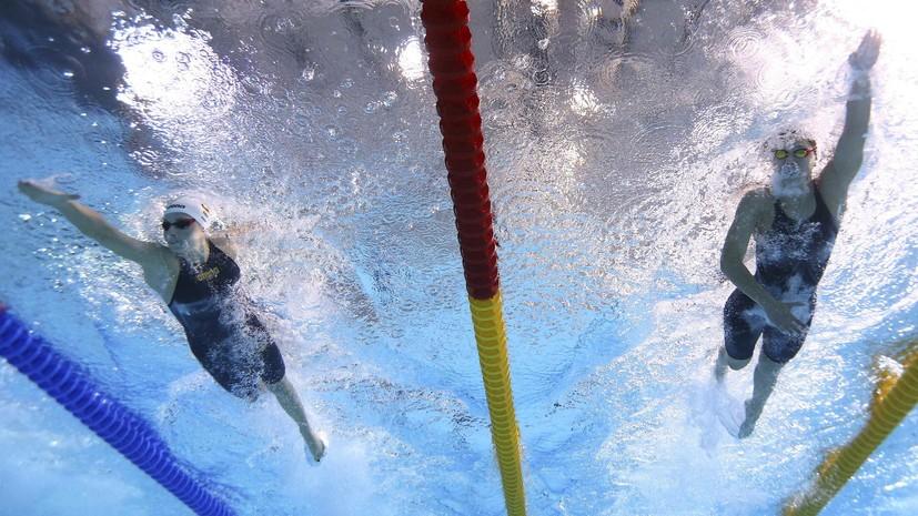 Женская сборная России по плаванию завоевала серебро ЧЕ-2018 в эстафете 4 х 200 м вольным стилем