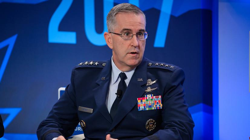 Американский генерал назвал новое российское оружие слабым конкурентом