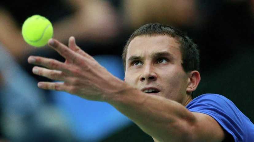 Российский теннисист Донской вышел во второй круг турнира в Торонто