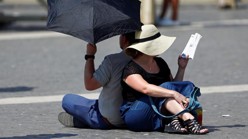 В Испании из-за жары за несколько дней погибли 10 человек