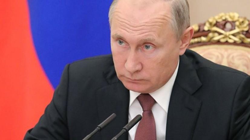 Путин призвал вывести космическую промышленность на новый уровень качества