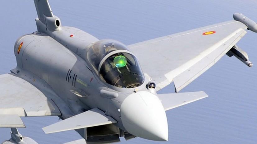 В Эстонии обнаружили вероятное место падения запущенной истребителем ВВС Испании ракеты