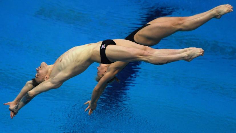 Российские прыгуны в воду Бажина и Шлейхер стали шестыми на ЧЕ по летним видам спорта в Глазго
