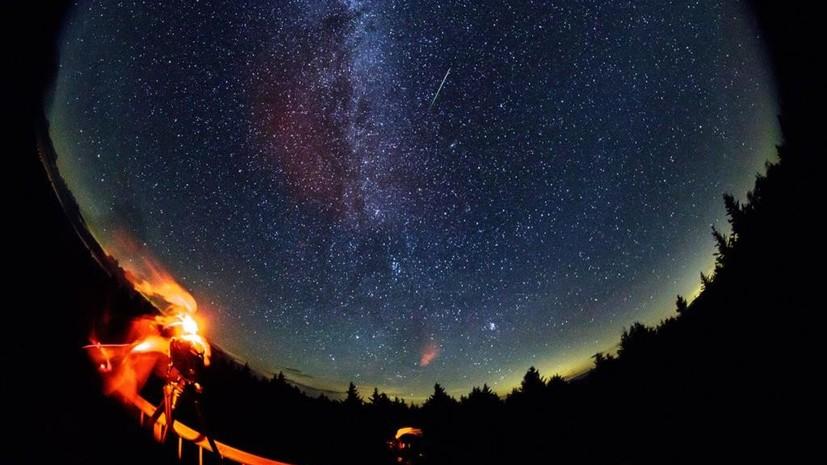 Звёздное шоу: откуда лучше наблюдать самый яркий метеорный поток года