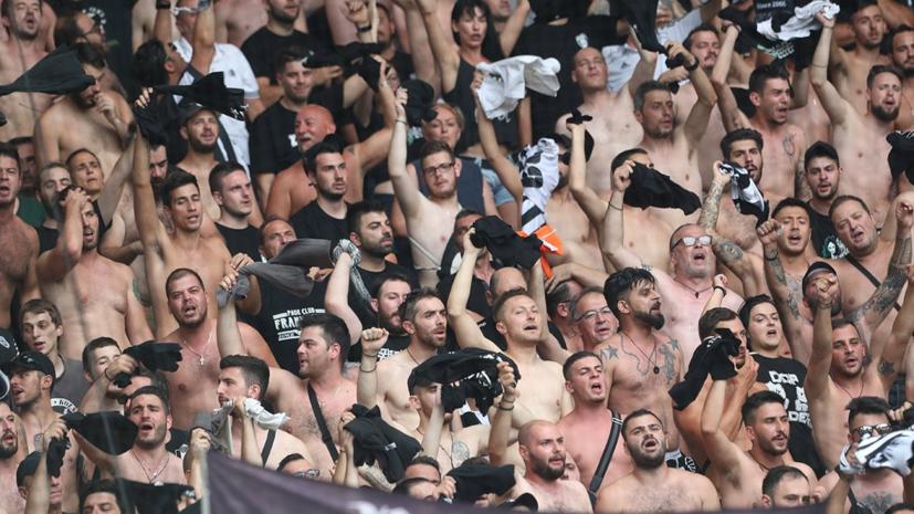В ПАОК прокомментировали информацию о нападении фанатов клуба на российских журналистов