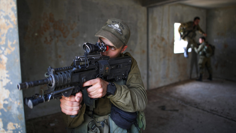 Израиль начал атаковать позиции палестинцев в Газе после ракетного обстрела