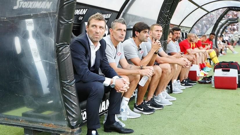 Каррера снова заявил, что не считает «Спартак» фаворитом противостояния с ПАОК в квалификации ЛЧ
