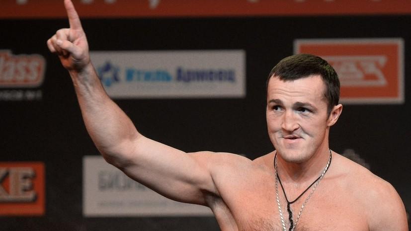 Стала известна дата возвращения на ринг российского боксёра Лебедева