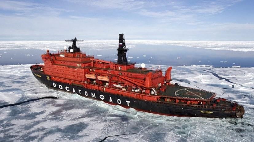 Корпус атомного ледокола «Урал» планируется спустить на воду в мае 2019 года