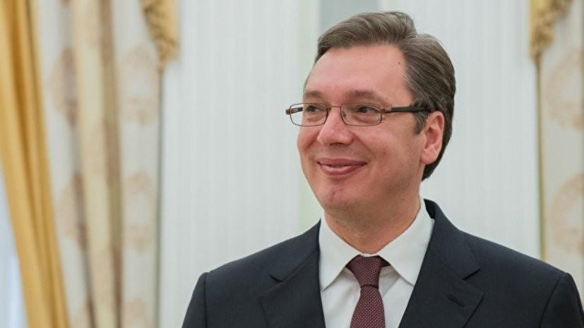 Президент Сербии впервые выступил за разграничение с албанцами в Косове