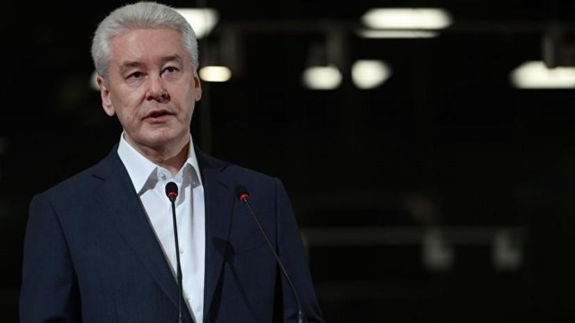 Собянин не примет участие в дебатах кандидатов в мэры Москвы
