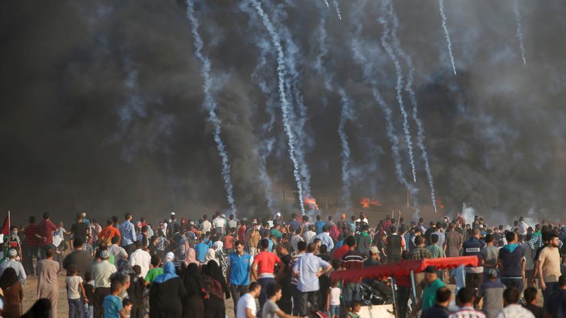 Франция призвала предотвратить новые жертвы в секторе Газа
