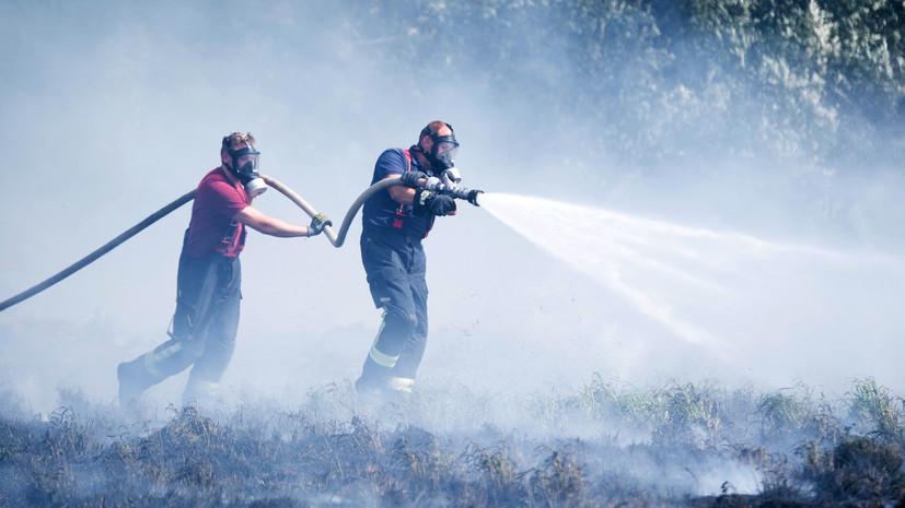 СМИ: В Эстонии произошёл пожар на центральном военном полигоне
