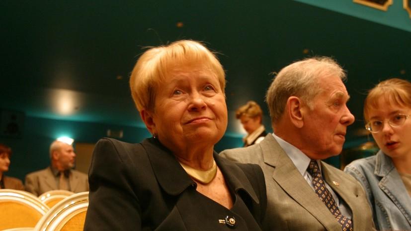 Композитор Александра Пахмутова попала в базу данных «Миротворца»