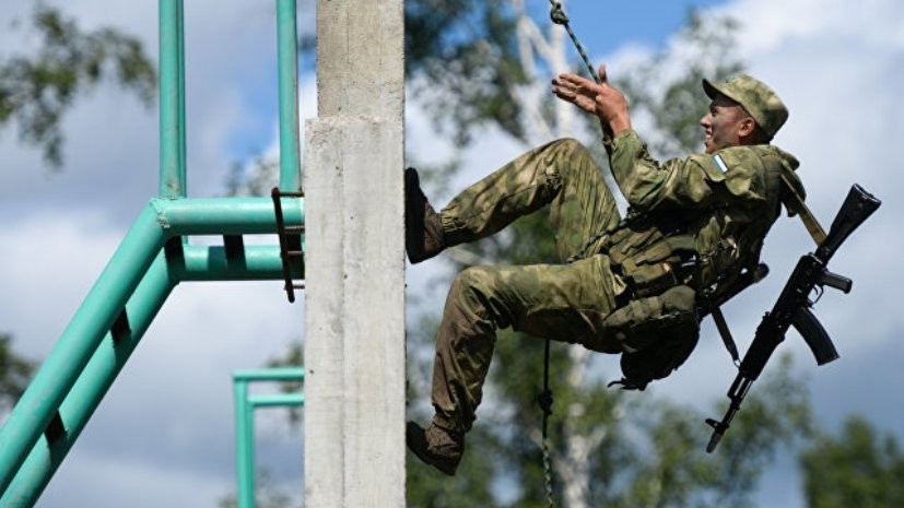 Команда России победила в конкурсе «Отличники войсковой разведки»