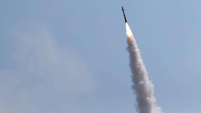 В Израиле заявили, что из сектора Газа запустили ракету в сторону крупного города страны