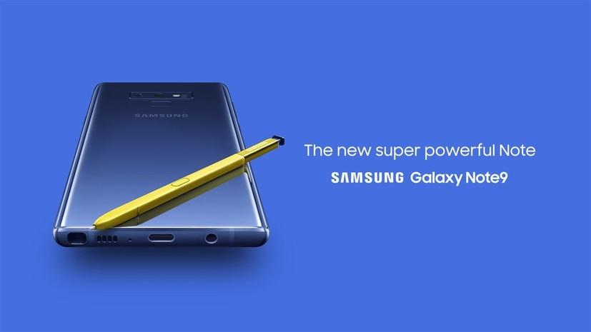 Samsung представила смартфон Galaxy Note 9