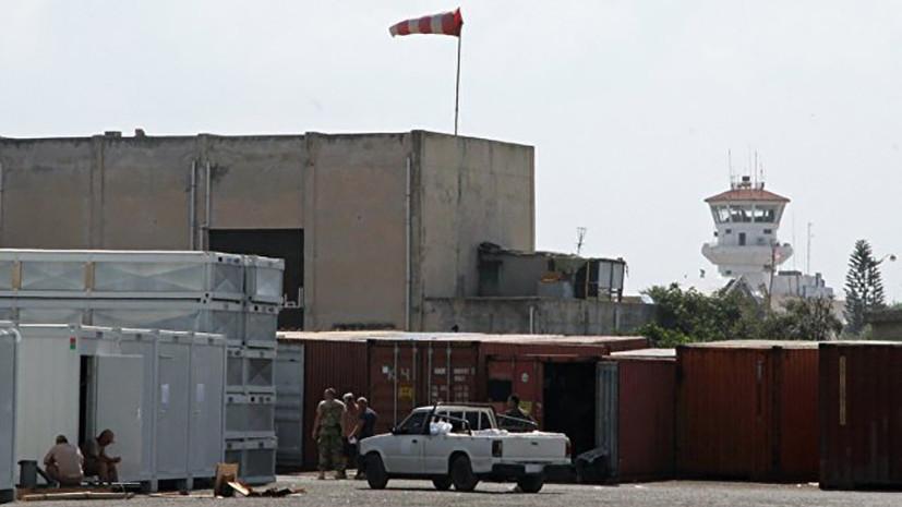В Сирии военные уничтожили запущенный в сторону авиабазы Хмеймим беспилотник