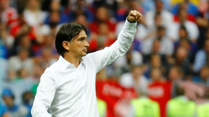 Далич останется главным тренером сборной Хорватии по футболу