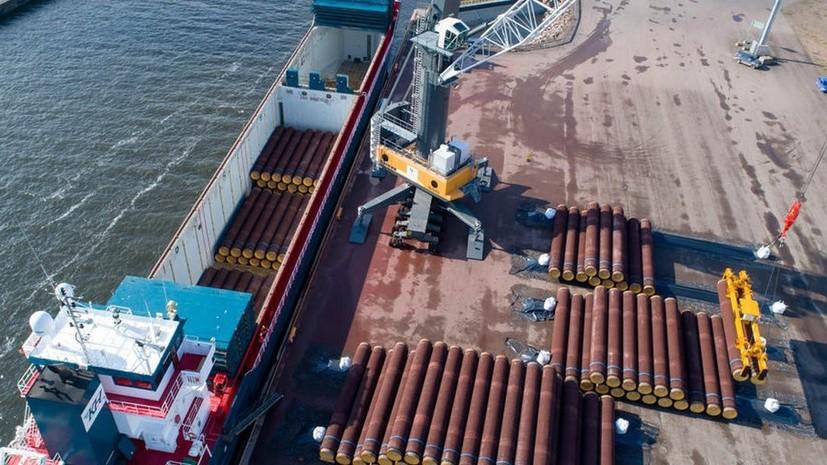 Nord Stream 2 AG подала заявку на альтернативный маршрут «Северного потока — 2» в Дании