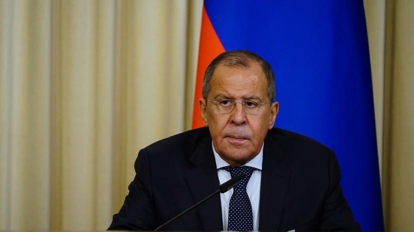 Лавров высказал Помпео мнение поновым санкциям США