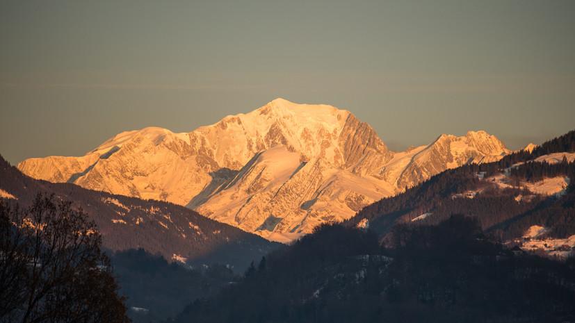 На Монблане обнаружили тела трёх итальянских альпинистов