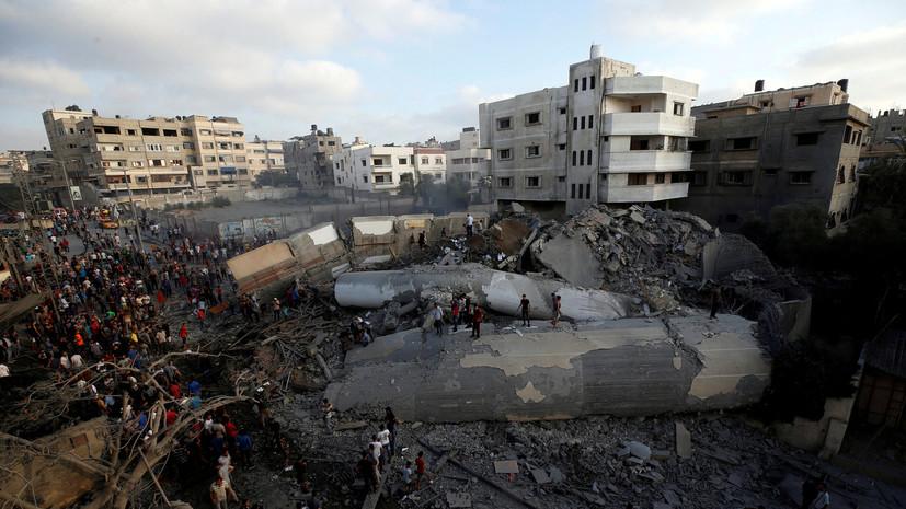 Двое палестинцев погибли в стычках с израильскими военными на границе сектора Газа