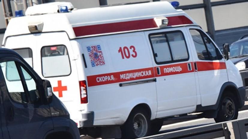 В Подмосковье из-за съезда микроавтобуса в кювет пострадали шесть детей