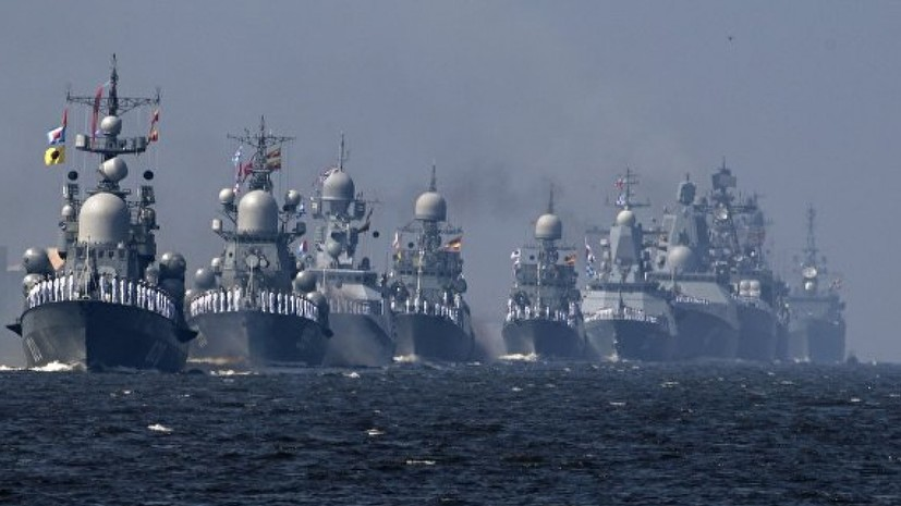 Отряд боевых кораблей Северного флота вошёл в Средиземное море