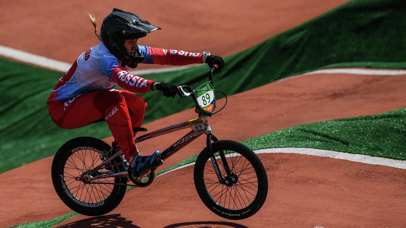 Бондаренко завоевала бронзу чемпионата Европы по ВМХ в суперкроссе