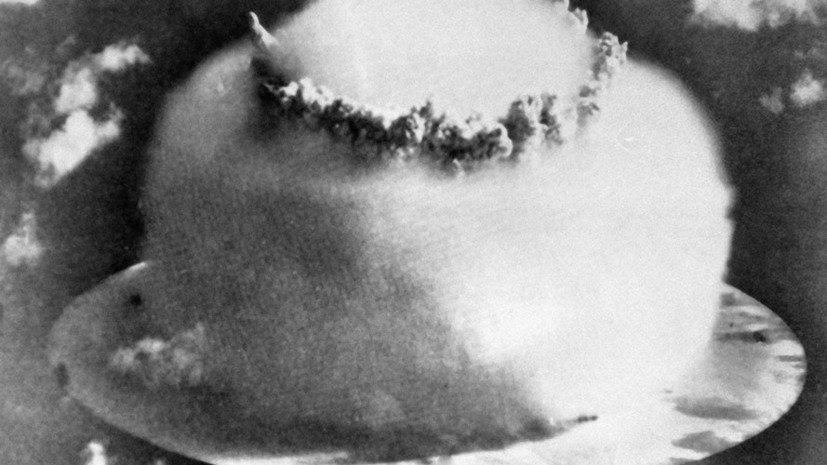12 августа 1953 года Советский Союз испытал первую в мире