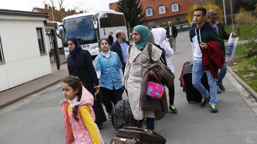 Количество нападений на мигрантов в Германии снизилось