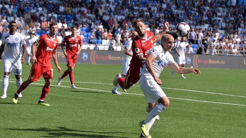 «Оренбург» одержал победу над «Локомотивом» в третьем туре РПЛ