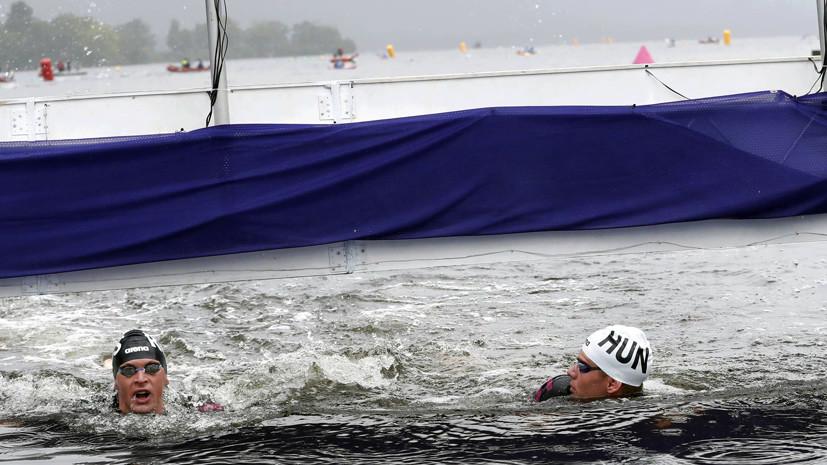 Россиянин Беляев стал серебряным призёром в плавании на открытой воде на ЧЕ по летним видам спорта