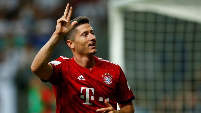 «Бавария» разгромила «Айнтрахт» и завоевала Суперкубок Германии по футболу