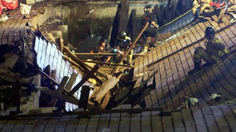 Число пострадавших при обрушении конструкции наконцерте вИспании возросло  до312