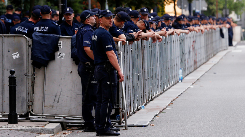В польском городе все сотрудники полиции ушли на больничный из-за переутомления