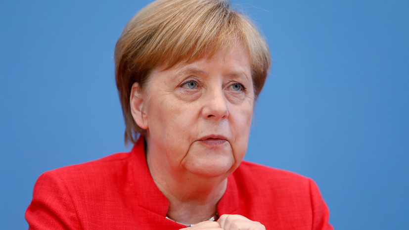 Канцлер Германии Ангела Меркель проведёт переговоры с российским президентом Владимиром