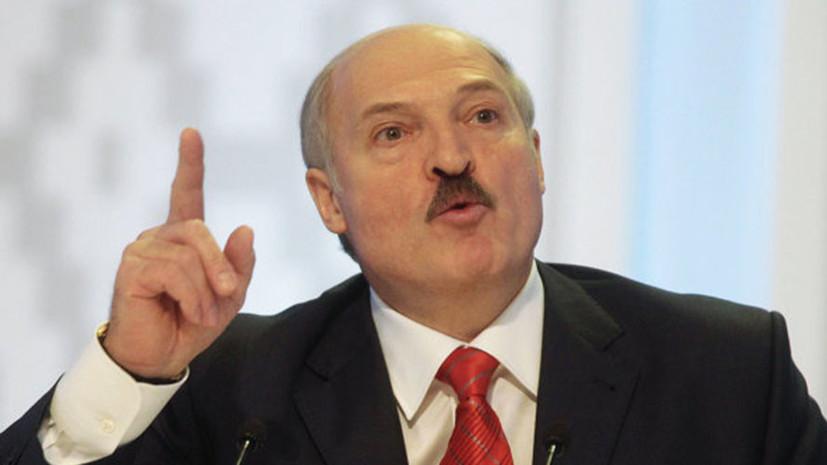Лукашенко рассказал, за что народ ненавидит чиновников