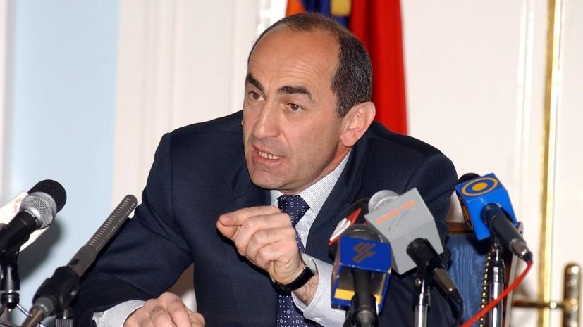 Арест экс-президента Кочаряна признали преступным