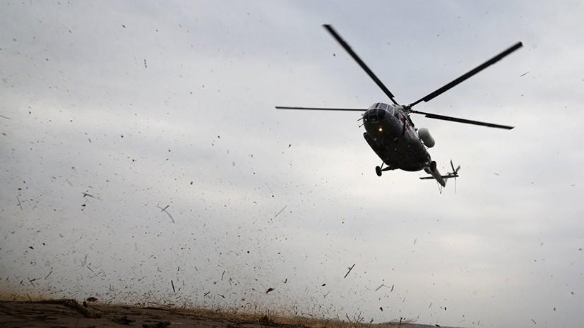 Стали известны имена россиян, погибших при жёсткой посадке вертолёта в Таджикистане