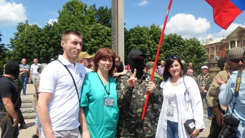 RT публикует интервью с начальником медицинской службы батальона Захара Прилепина