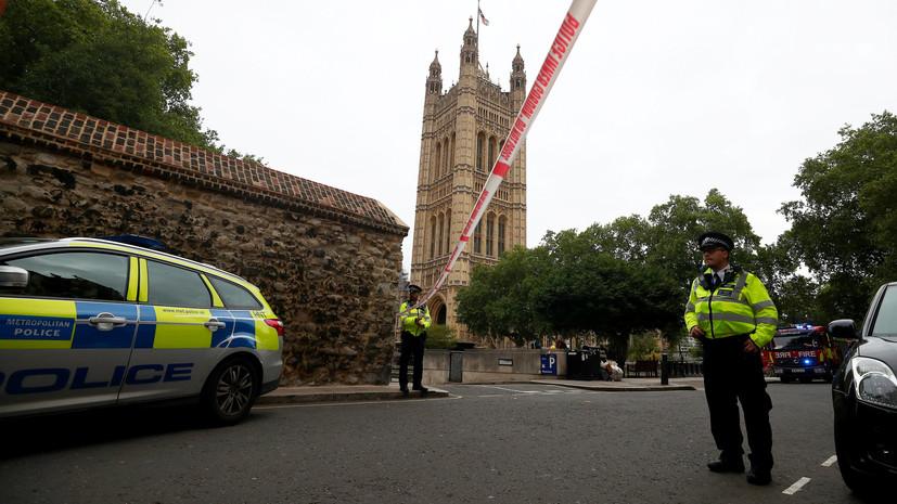 Полиция рассматривает инцидент у здания парламента Британии как теракт