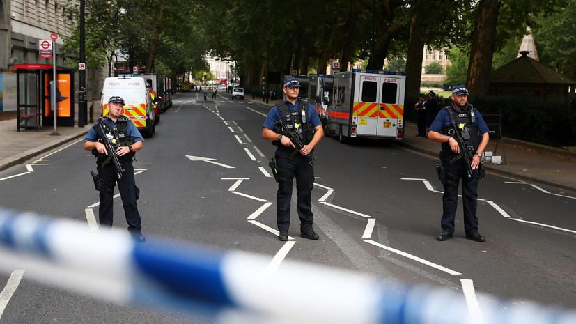Подозреваемый в наезде у парламента Великобритании не сотрудничает со следствием