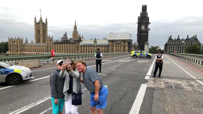 Ростуризм призвал россиян избегать в Лондоне мест массового скопления людей