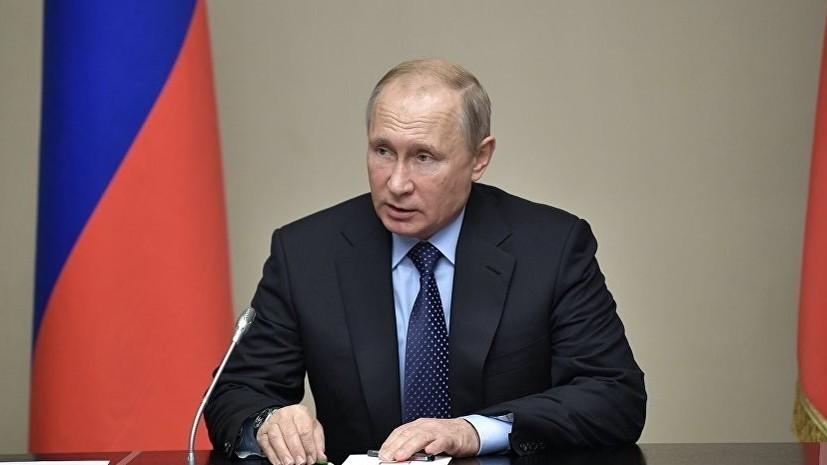Путин выразил соболезнования в связи с гибелью людей при обрушении моста в Генуе