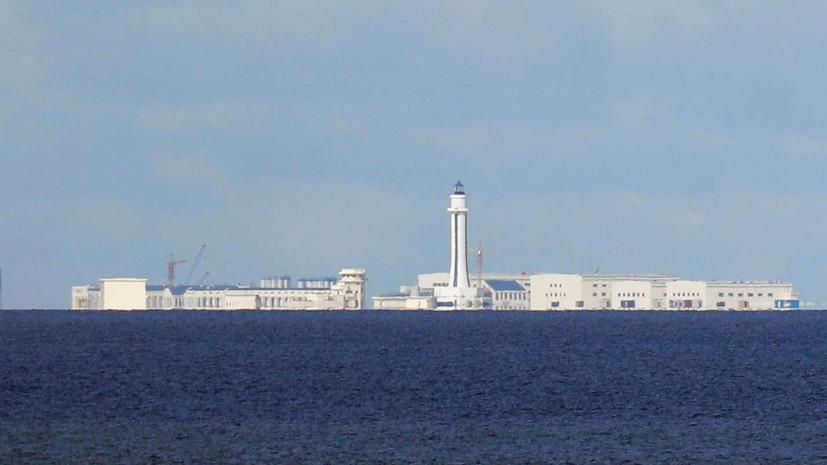 Дутерте призвал Китай «умерить» свою политику по заходу кораблей в Южно-Китайское море
